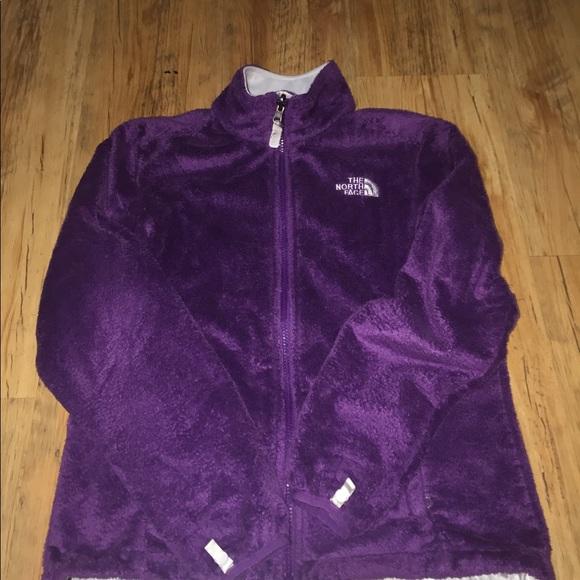 The North Face Jackets & Blazers - Women's purple north face fleece